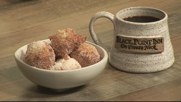 Ricotta Zeppole - or fancy donuts - to make for Mother's Day brunch
