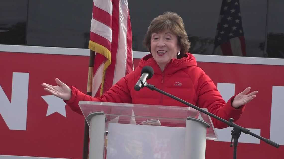 Susan Collins claims victory in Maine Senate race