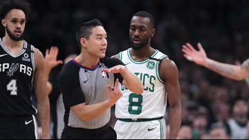 Kemba recovers from flu only to grow sick of refs