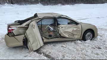 Massachusetts man seriously injured after skidding on Maine Turnpike