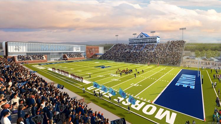 UMaine unveils $110 million athletics facilities master plan
