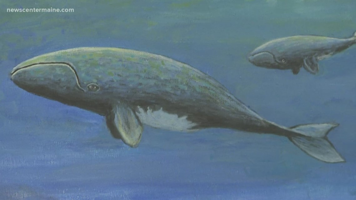 Right Whale Road Show brings art and education together