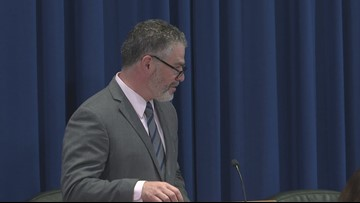 Ethan Strimling gives final remarks as mayor of Portland