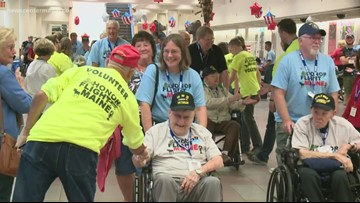 32 Maine vets head to D.C. through Honor Flight Maine