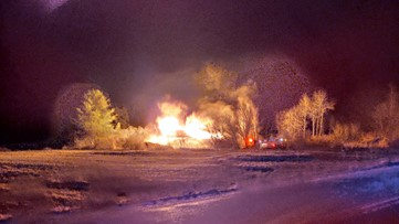 Firefighter injured, home destroyed in Harpswell Neck fire