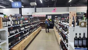 Liquor sales spike during coronavirus pandemic