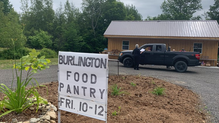 Burlington Food Pantry gets new home