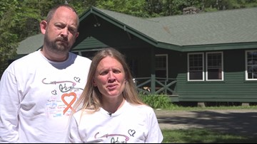 WEB EXTRA: Camden Bryant's parents on his cancer diagnosis