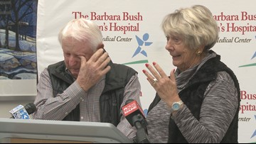 Chance to help sick kids brings a tear to PGA executive's eye