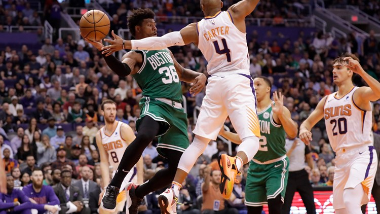 Point-less Suns are easy pickings for Celtics
