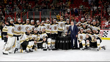 Bruins sweep Hurricanes to reach Stanley Cup Final