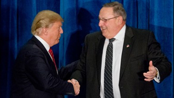 LePage to serve as Trump's honorary campaign chair in Maine