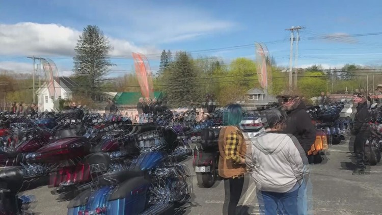 Dempsey Center Benefit Ride in Lewiston at L-A Harley