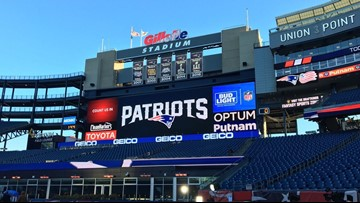Gillette Stadium offers free parking ... with a catch