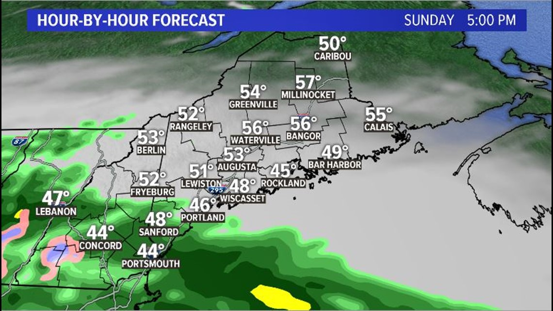 Another April Storm Brings Heavy Wet Snow To Maine Newscentermaine Com