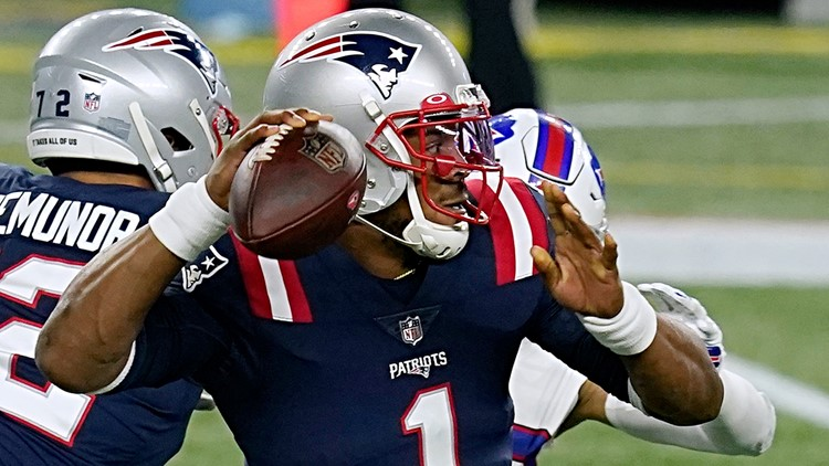 Patriots re-sign QB Cam Newton to one-year deal