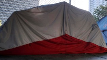 Belfast single-mother facing eviction offered a tent by city, report says