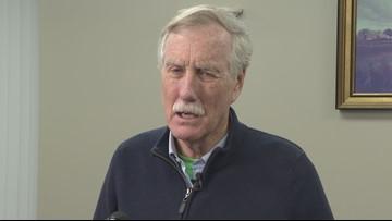 Sen. King urges action against climate change