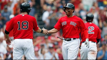 While pummeling the Orioles, Devers puts up stats to rival Red Sox legends