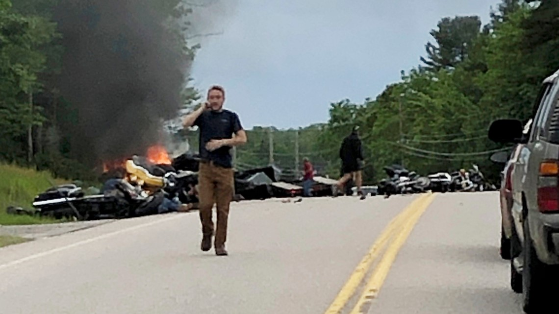 We All Feel It Motorcyclists Mourn Death Of 7 In Crash