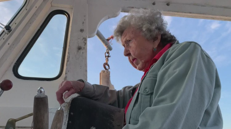 The 101-year-old Maine Lobster Lady