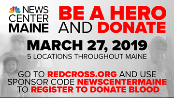 2019 NEWS CENTER Maine Red Cross Blood Drive