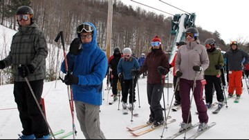 Helmets may not offer full protection on the ski slopes, according to a report