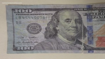Be on the lookout for fake money