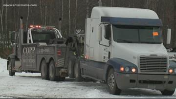 Maine police seize six trucks for unpaid tolls