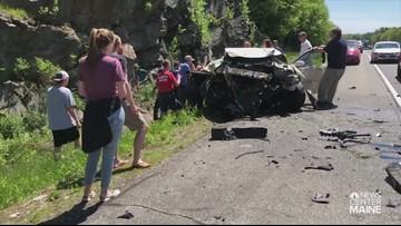 I-295 Falmouth crash