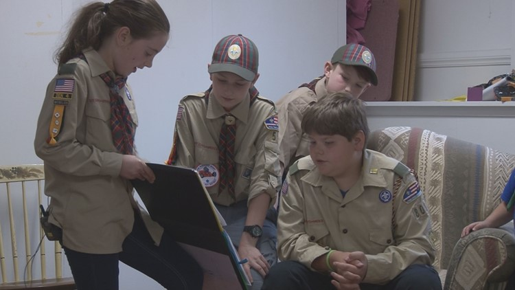 Girls Join Boy Scouts