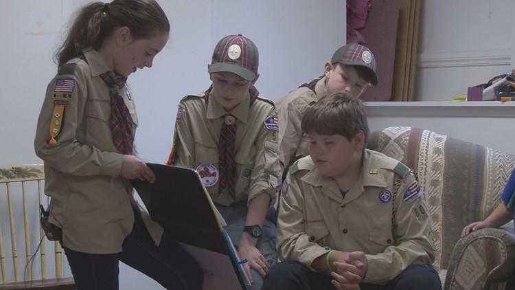 Girls Join Boy Scouts