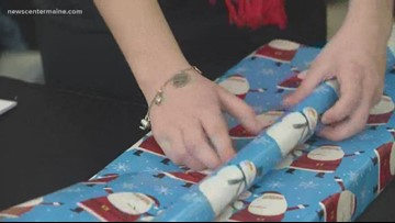 IRIS Network doing your holiday wrapping