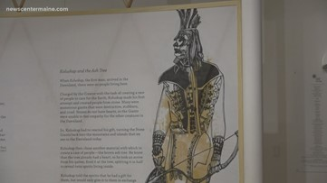 Museum tells the story of Maine's first Indigenous Peoples Day