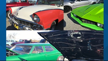 Muscle cars bring dozens to Bangor