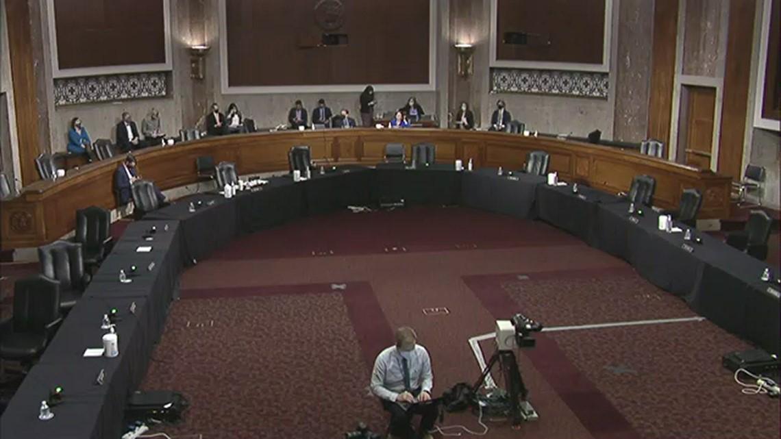Sen. Angus King questions law enforcement about Capitol insurrection
