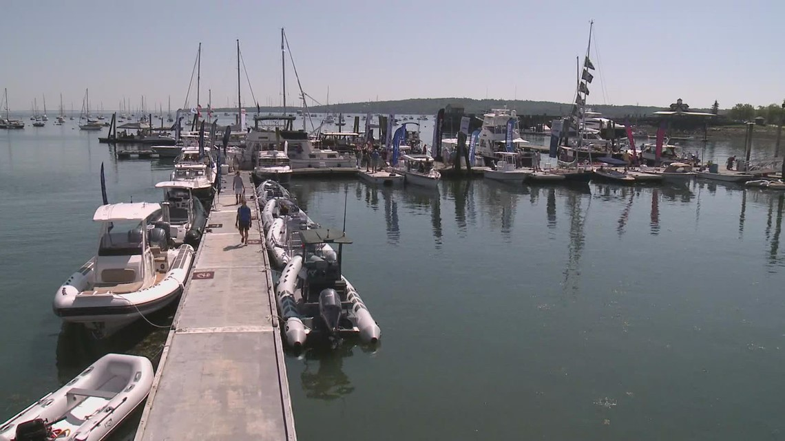 Boat demands high from pandemic as Rockland 'Water Boat Show' opens