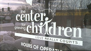 Family finds solace at Center for Grieving Children after mom is diagnosed with cancer