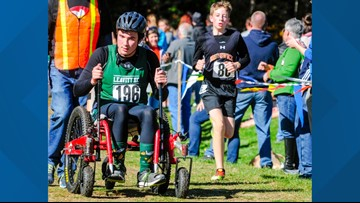 Wheelchair athlete to participate in cross-country meet