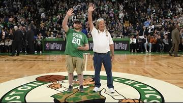 Boston Celtics honor two Maine veterans deemed 'heroes'