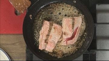 Honey garlic salmon with Lynn Archer