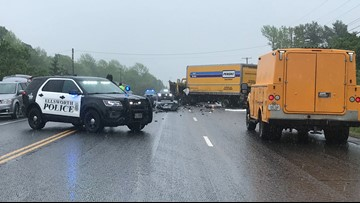 One person dead in Route 1A crash in Ellsworth