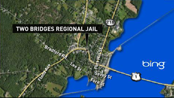 Inmate hospitalized after suicide attempt