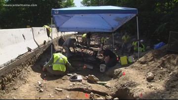 Archaeologists uncovering centuries-old fort in Windham