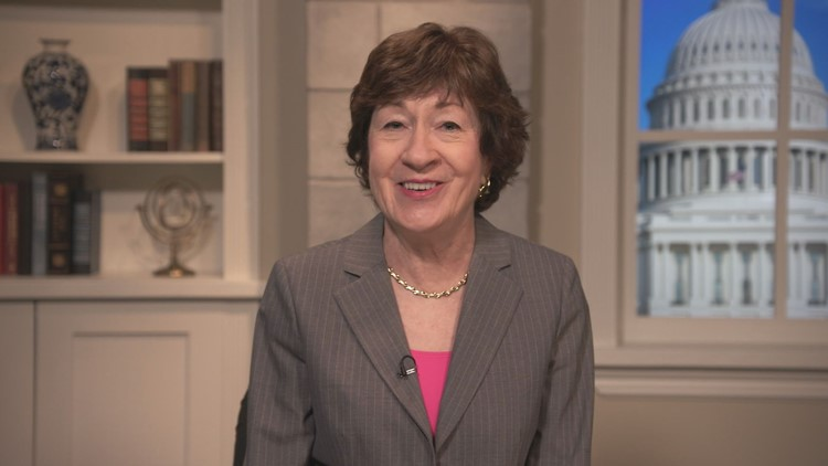 Collins 'delighted' to receive bipartisan vote on long-anticipated infrastructure package