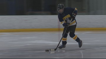 Blind hockey team started at Falmouth ice rink