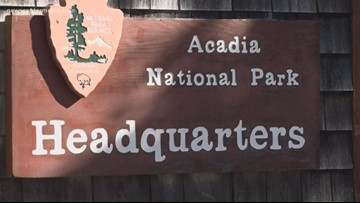 Friends of Acadia National Park help close trails for the season