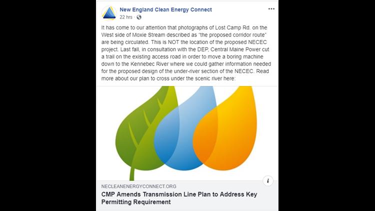 CMP Facebook post