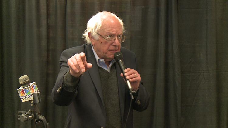 Bernie Sanders in South Portland 11-21-16