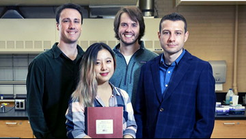 Molecule created by Bates students could lead to more effective treatment for cancer and Alzheimer's patients